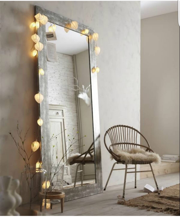 miroir ambiance cosy