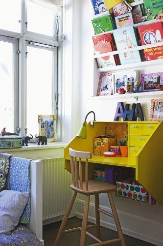 bureau-enfant-jaune