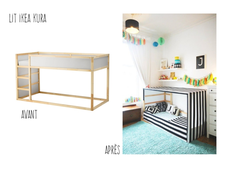 ikea hack les transformations les plus originales part ii mama jool d coratrice d. Black Bedroom Furniture Sets. Home Design Ideas