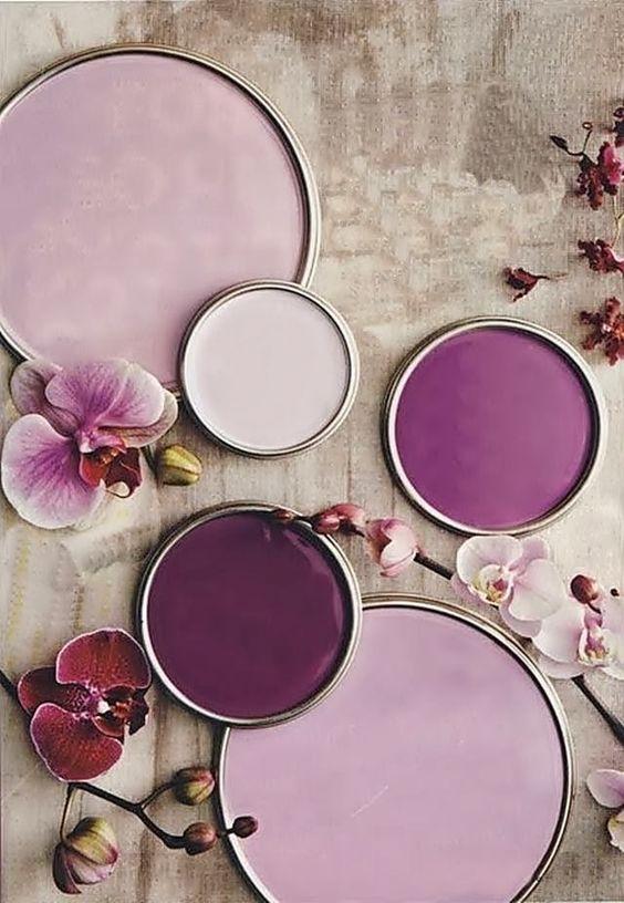 nuances violet