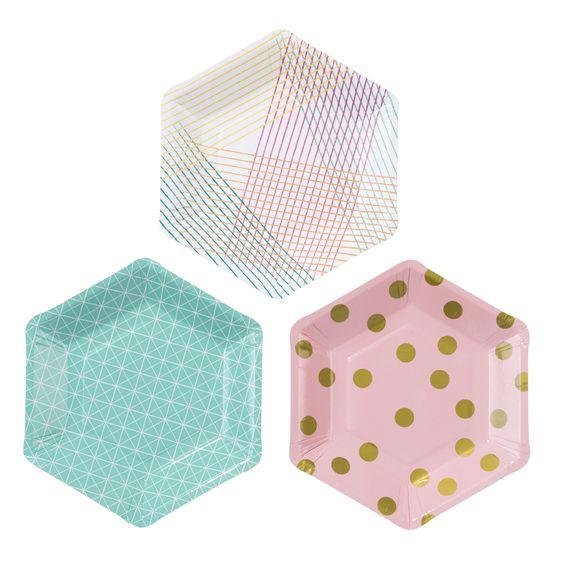 anniversaire-licorne-vaisselle