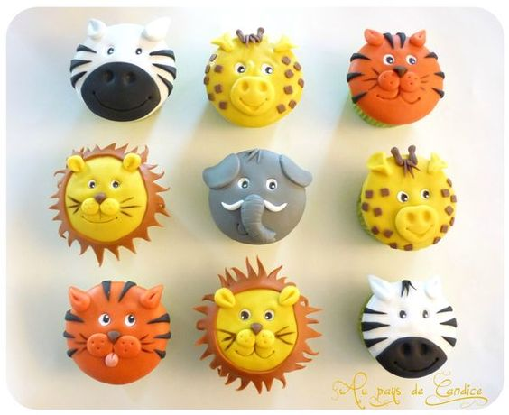 anniversaire-safari-cupcakes