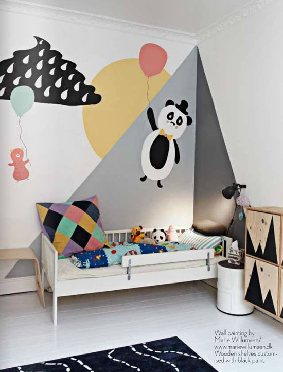 chambre-garçon-scandinave-panda