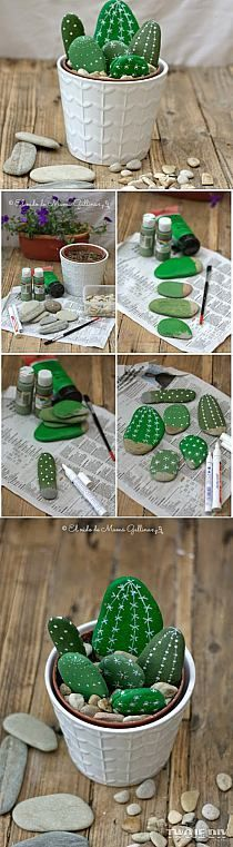DIY-cactus-galets1