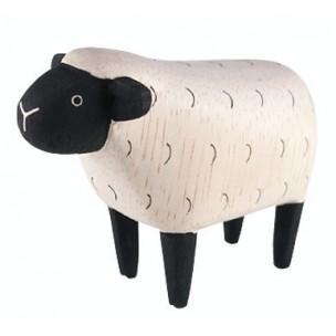 figurine-mouton-en-bois