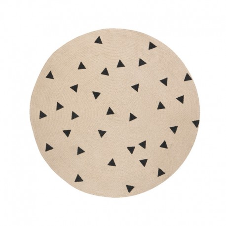 tapis-rond-triangles