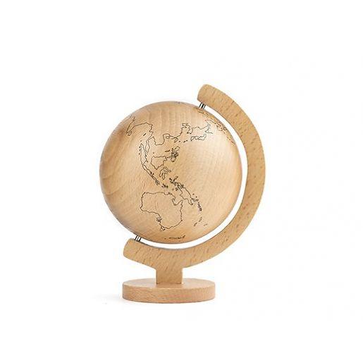wood-globe