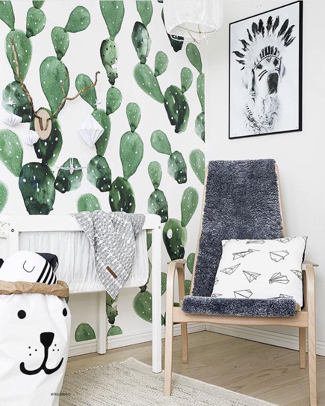 chambre-enfant-cactus