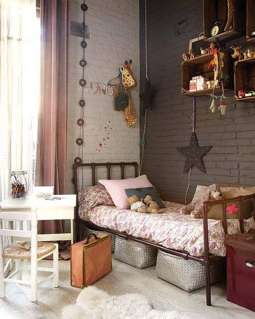 Deco Chambre Fille Vintage. La Chambre De Lonie Dco Chambre Fille ...