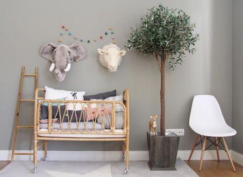 nature-chambre-bébé-rotin