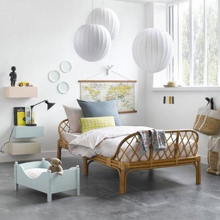 nature-chambre-rotin-lit