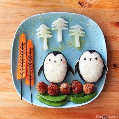 repas-enfant-pingouin
