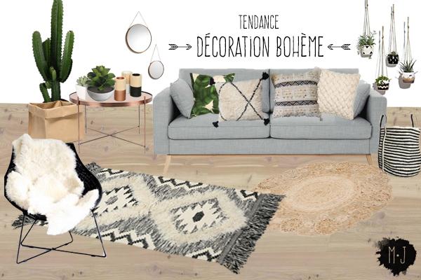 D coration boh me tendance d co boho chic en toute for Decoration interieur blog